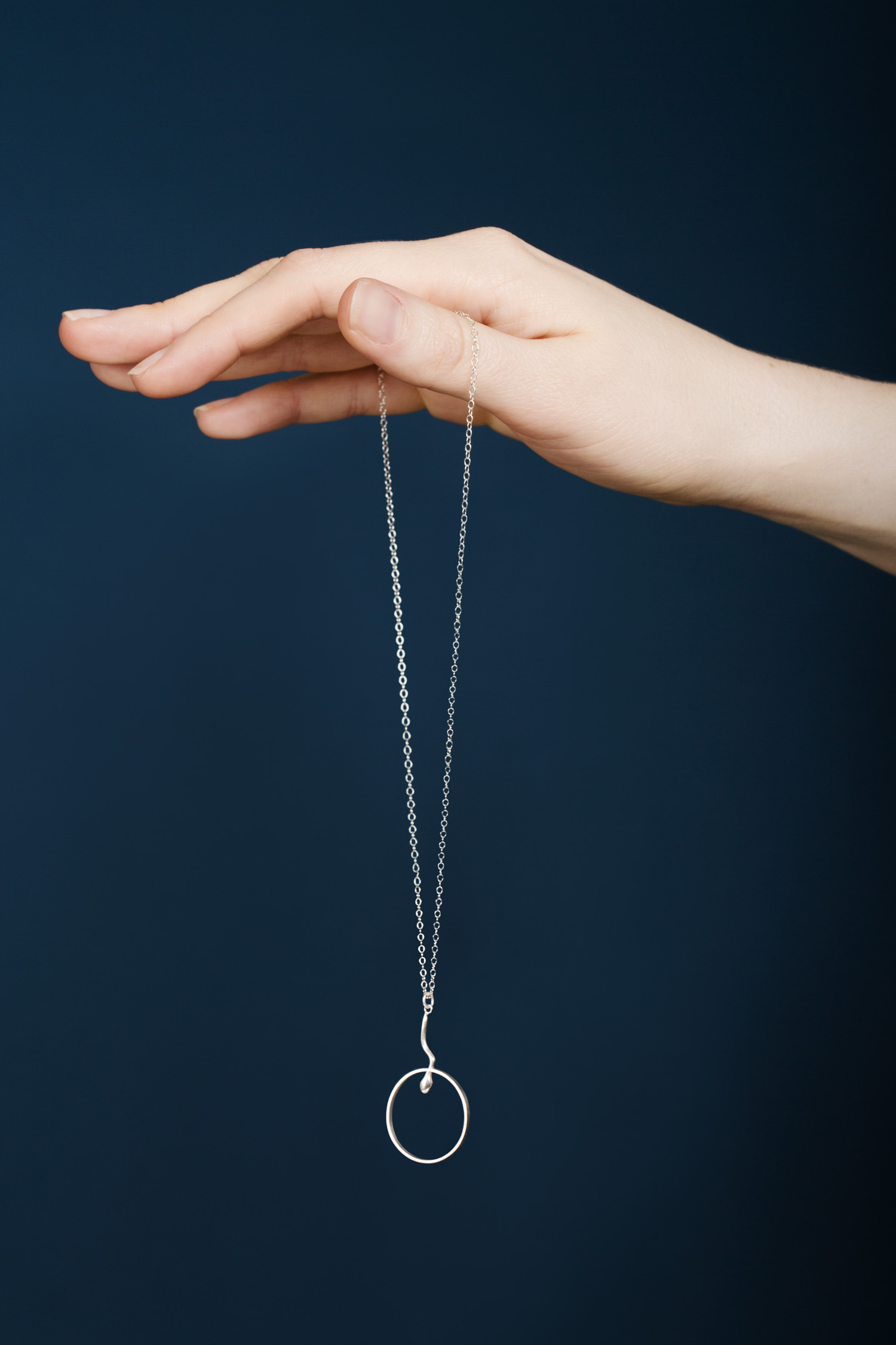 Conception Collection, 'Half way' pendant, silver