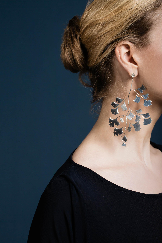 Ginko leaf earrings moonstone silver.jpg