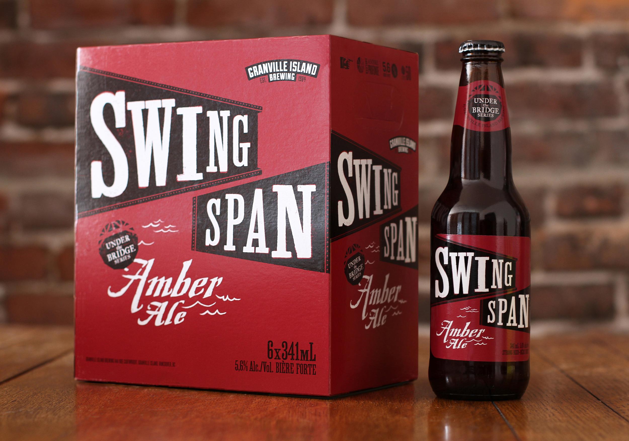 Swing San Amber Ale Beer Packaging