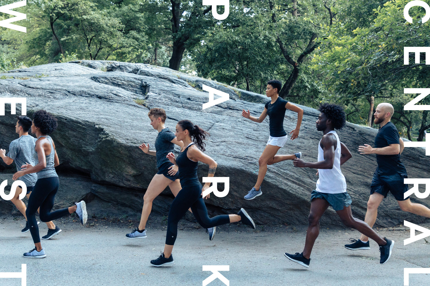 Run lifestyle photoshoot and art direction for lululemon new york city