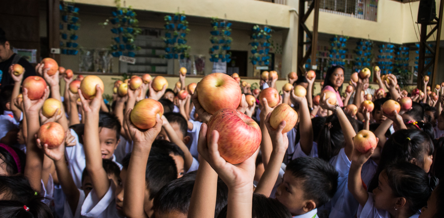 The Vikings Group Supports Appledrive Project in Payatas_1