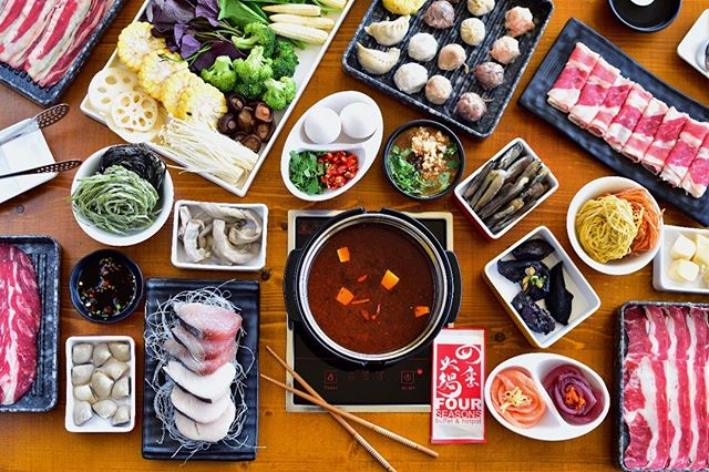 Be a chef for the day, mix, match, and cook your hotpot just the way you like it! Don't worry, we picked the freshest and finest ingredients just for you!  For reservations call 845-4647 (VIK-INGS)  #TheHottestBuffetInTheCity  #AlwaysFreshAlwaysInSeason