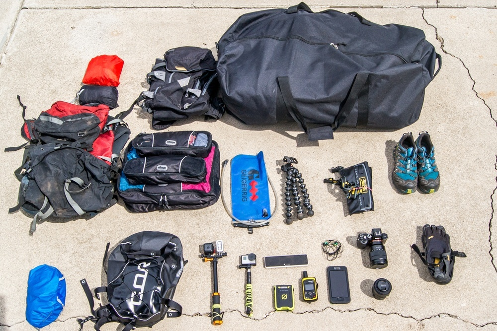 Hawaii Travel Gear by Cormac O'Brien, photographer and paraglider via  xshot.com