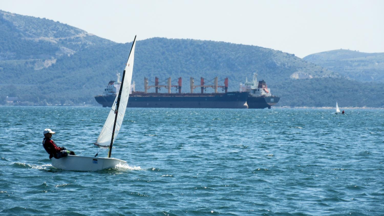 Photo:Chrysoula Tsouvala Series title:  Landscape Through the Sails