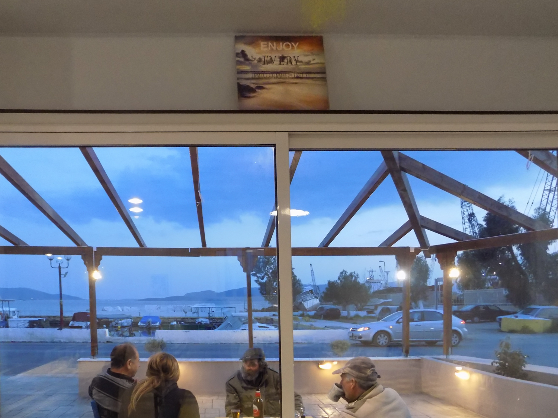 Photo: Eleni Moulianou Series title: Fish Taverns of Eleusis