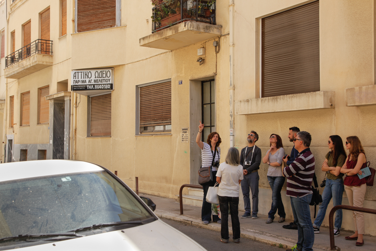 Architecture and photography walk co-led by Irini Gratsia from MONUMENTA.