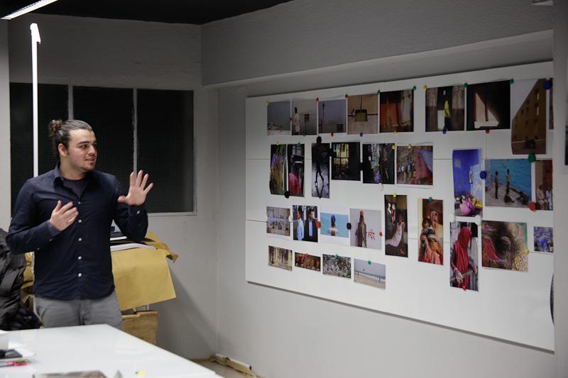 Portfolio presentation at the Athens House of Photography
