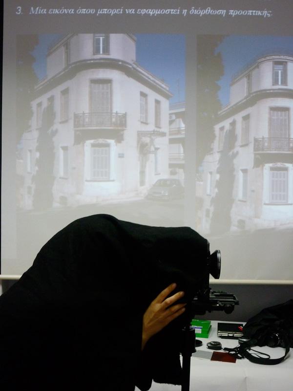 Large format camera workshop