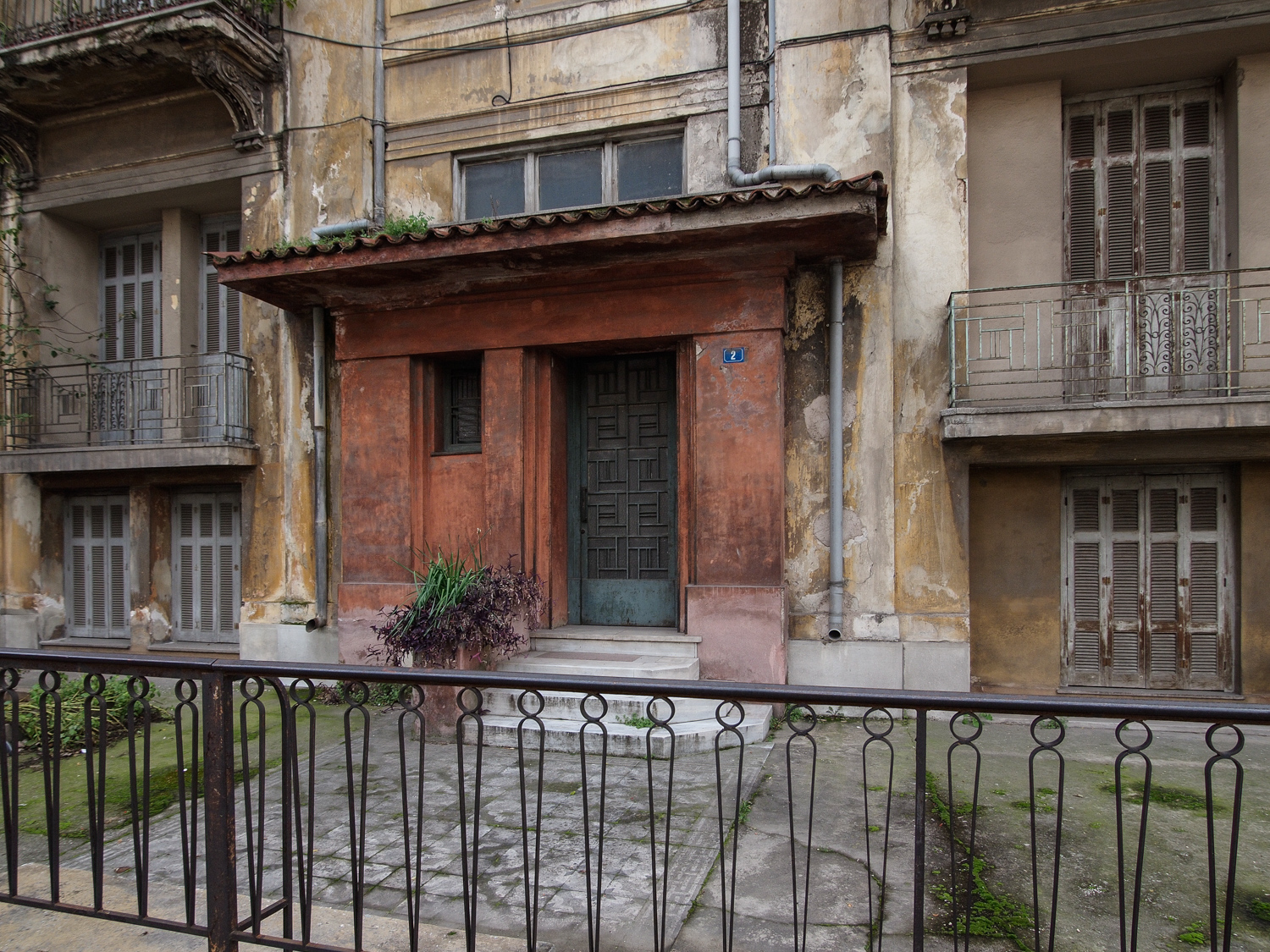 Eclectic residence of the interwar period, Athens