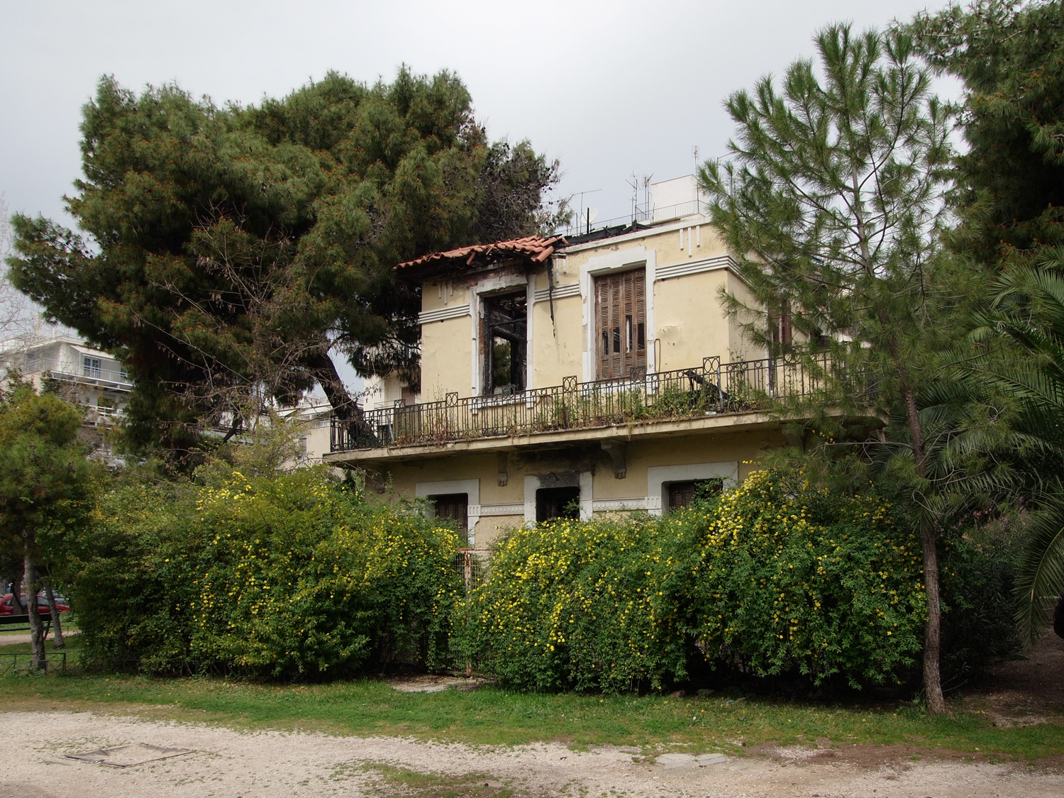 Villa Drakopoulou, sample of country house, Athens