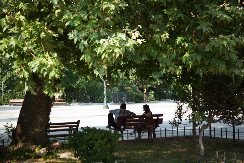 Town square of Eleusis.