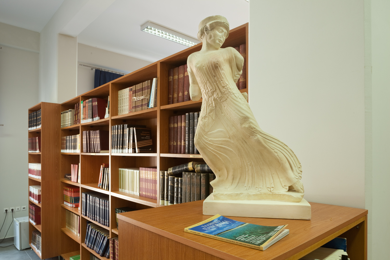 Municipal Library of Eleueis.
