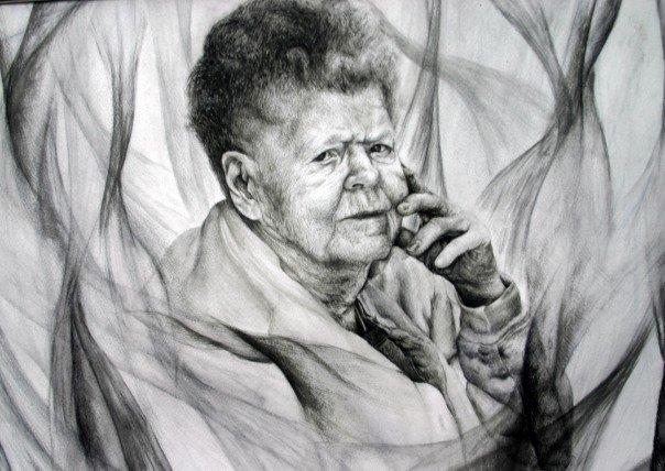 """""""Portrait of an Elder Lady"""""""