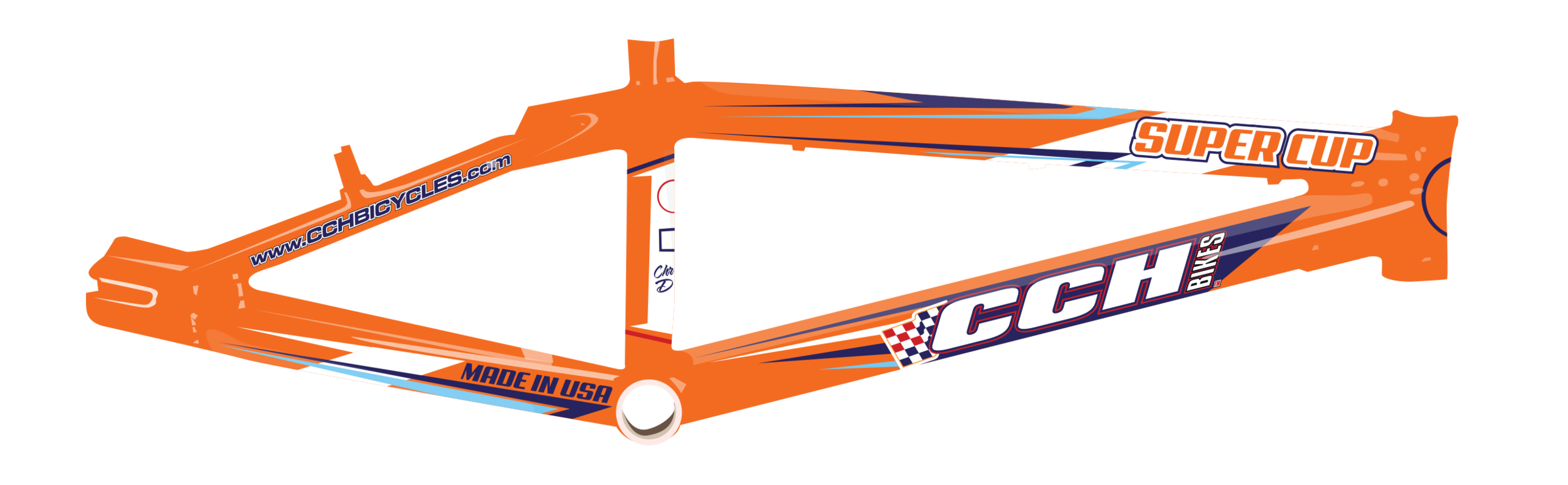 CCH Bikes Frame Design Concept