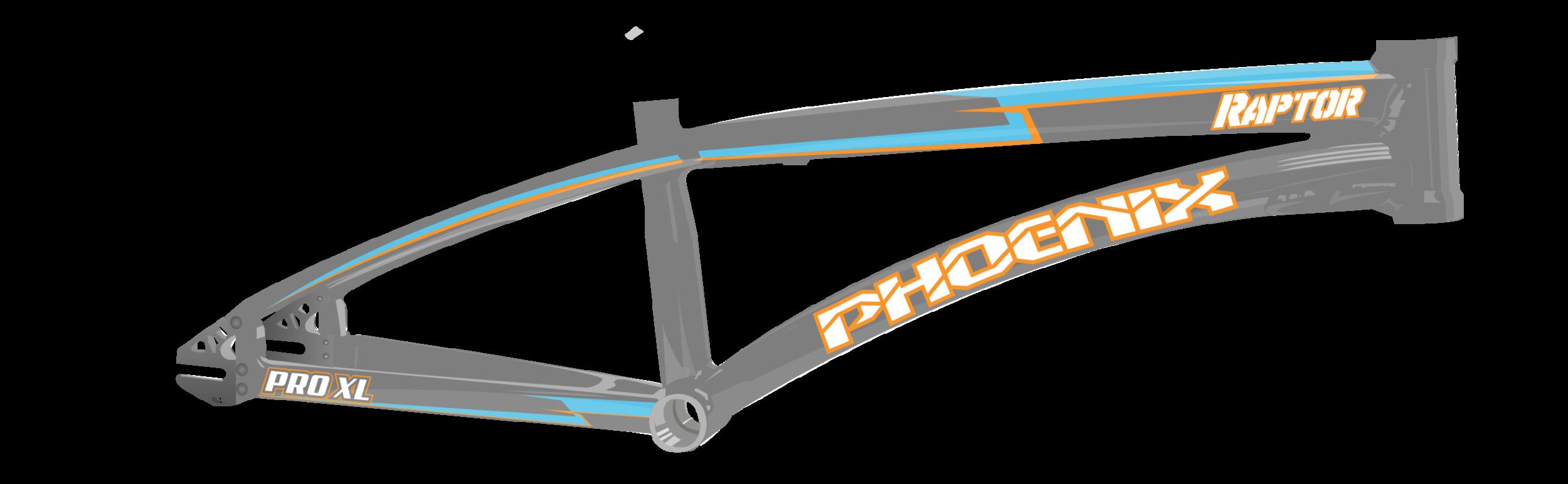 Phoenix Pro Cycles Frame mockup