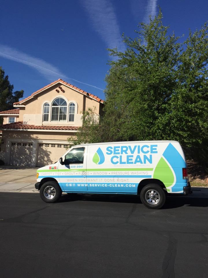 Service Clean Van