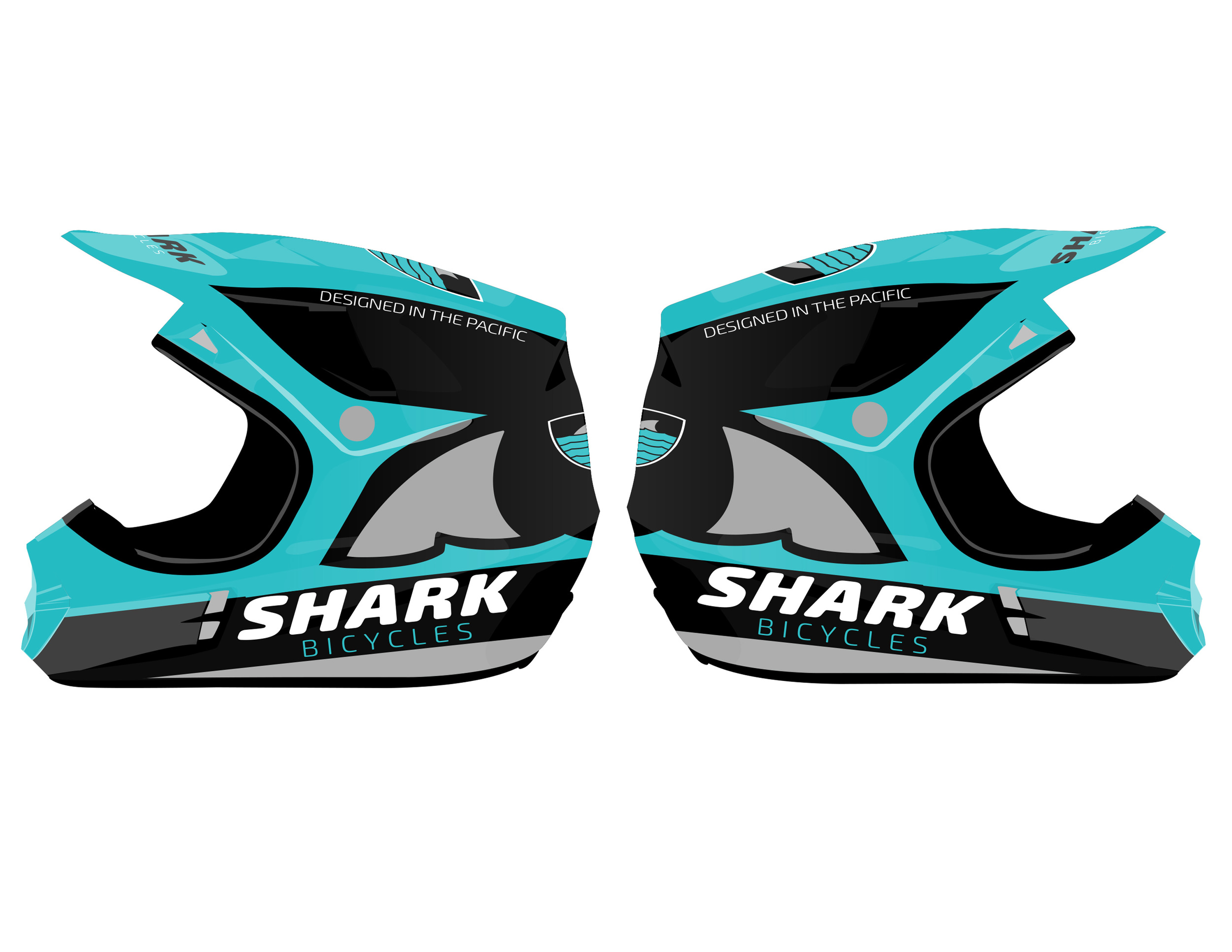 Shark Bicycles Helmet