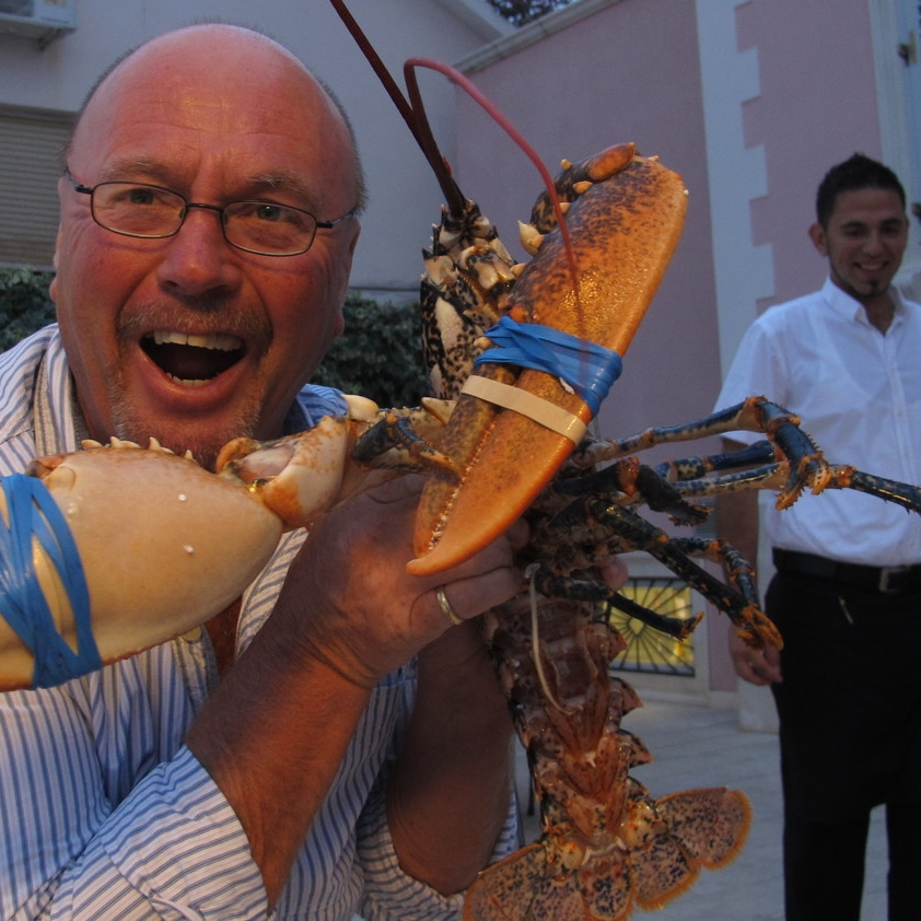 Mick can advise you on tackling local seafood