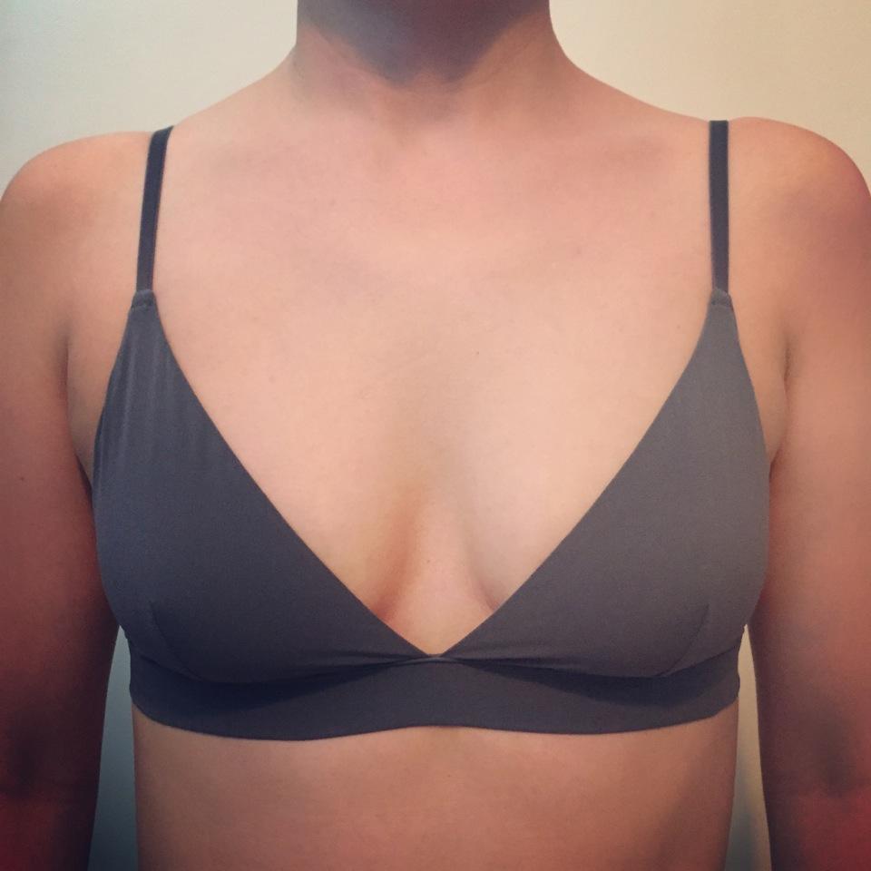 underwire free bra