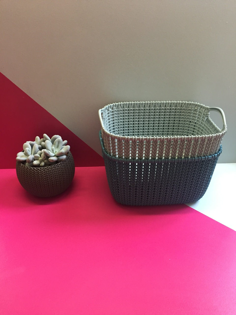 woven plant baskets