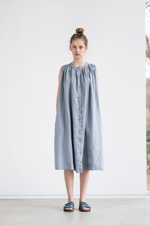 object style NOT PERFECT LINEN anti fit dress .jpg
