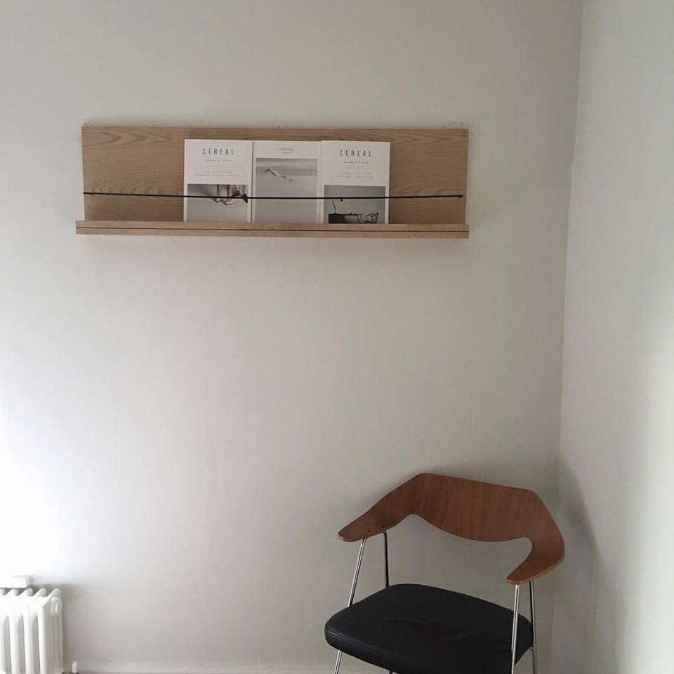 Image: Robin Day 675 Chair pictured in our old bedroom. Sourced at Alty Market.