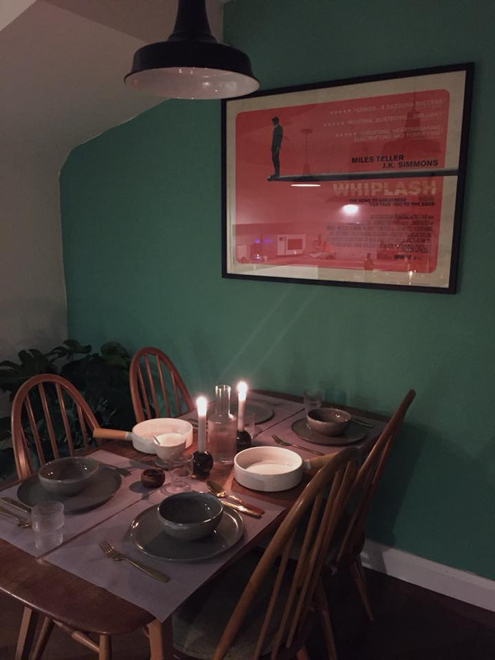 Image: Vintage Ercol 'Plank' Dinner Table and Windsor Quaker Chairs sourced from Etsy.