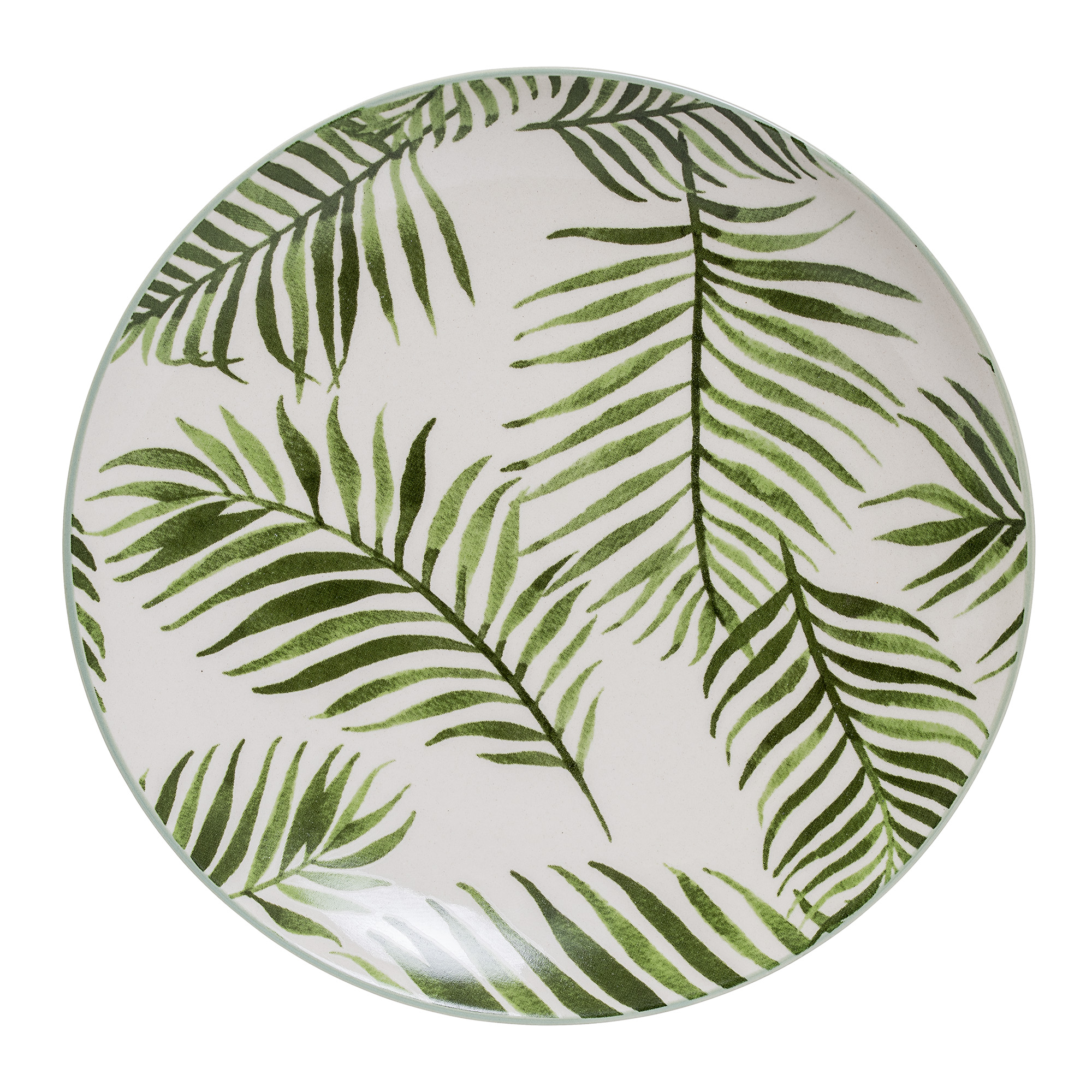 #001 Palm Side Plate    20cm Hire Price - £2.30 Minimum Order 10 Current Stock Available 60
