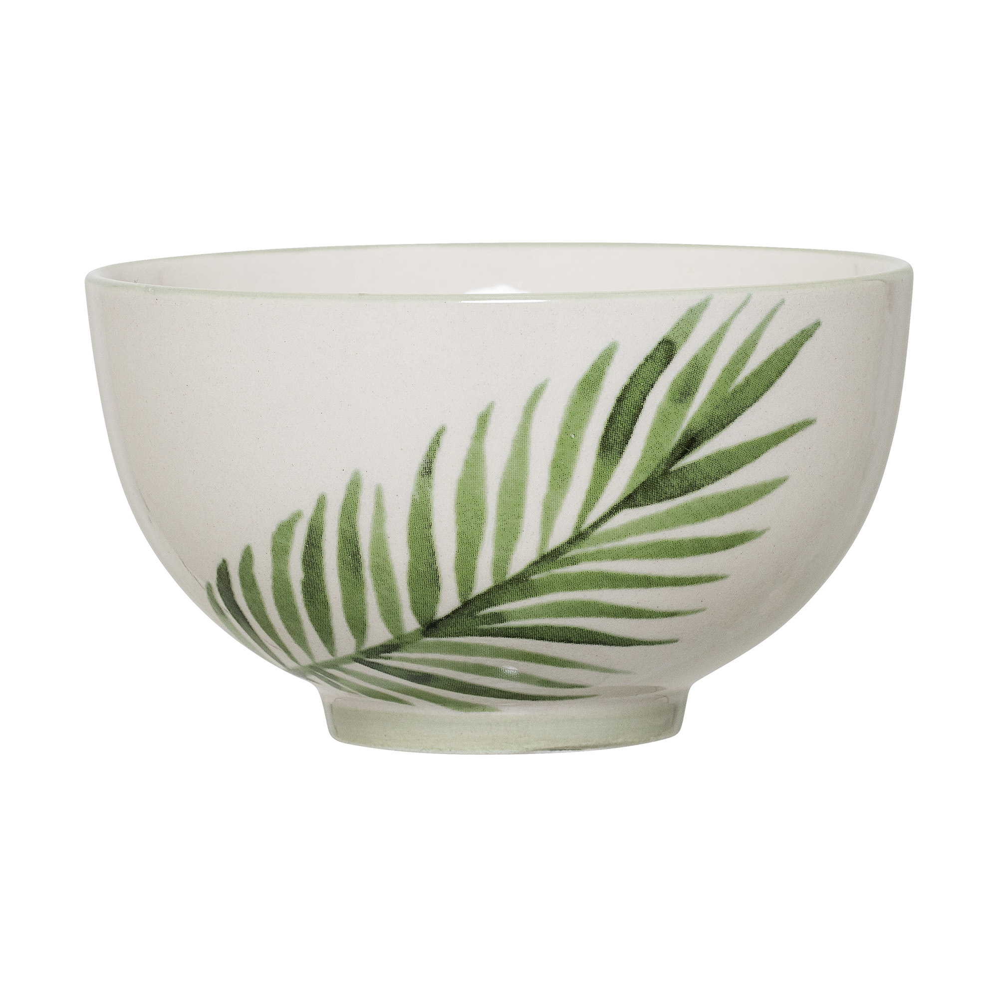 #003 Palm Small Sharing Bowl   11.5cm x H6.5cm Hire Price - £1.50 Minimum Order 5 Current Stock Available 30