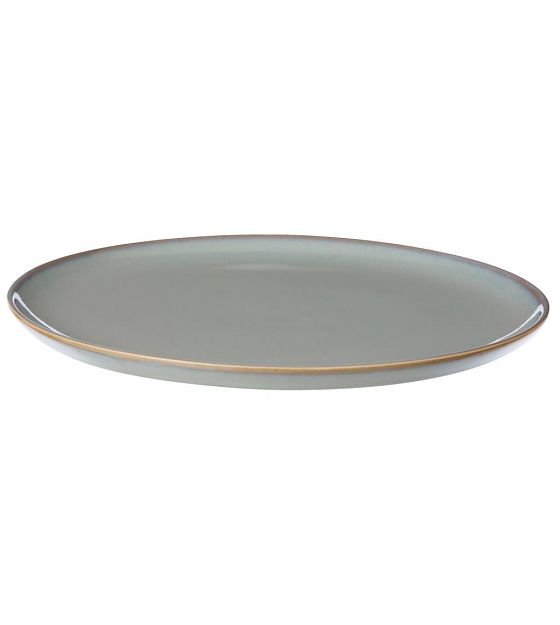 #004   Grey Glaze Side Plates   22cm Hire Price - £4 Minimum Order 10 Current Stock Available 60