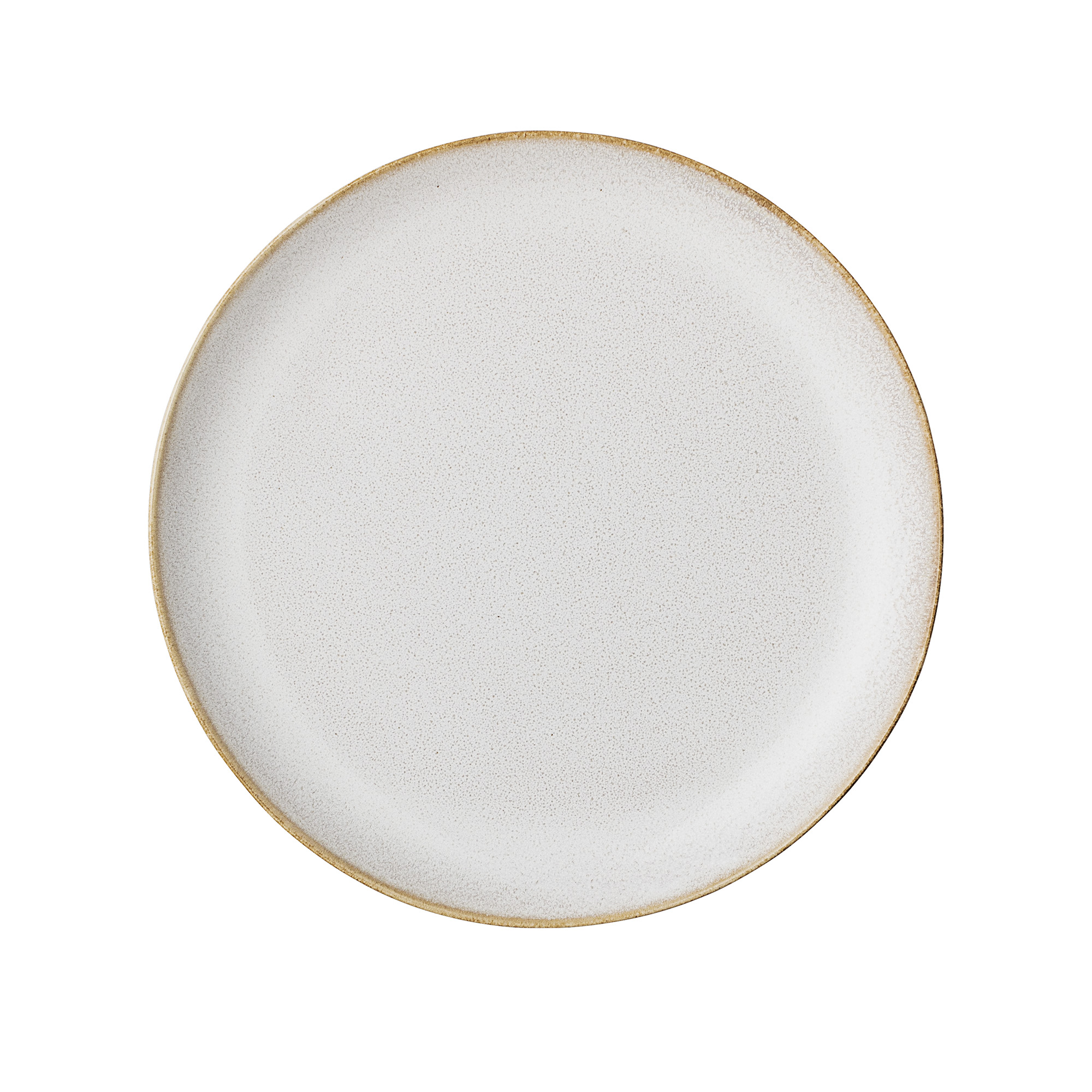 #012 Cream Stoneware Side Plate   20cm Hire Price - £2.60 Minimum Order 10 Current Stock Available 60
