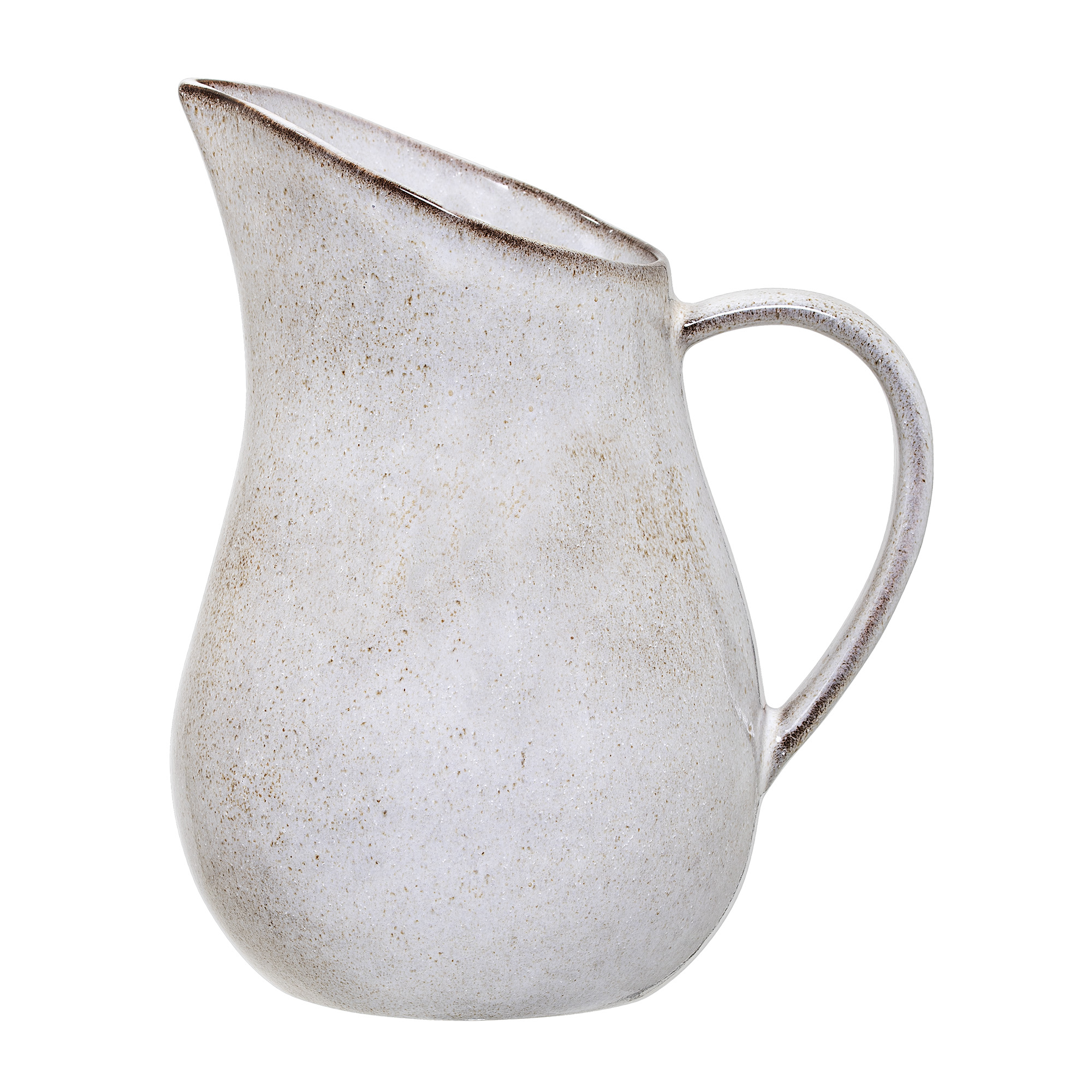 #021   Brown Stoneware Glazed Water Jug   15cm x H33cm Hire Price - £12 Minimum Order 5 Current Stock Available 12