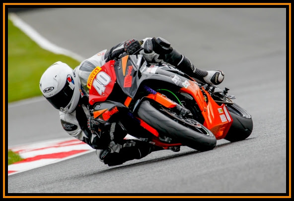 Nadieh in action at Brands Hatch. Photo by David Johnston Motorsport Photography
