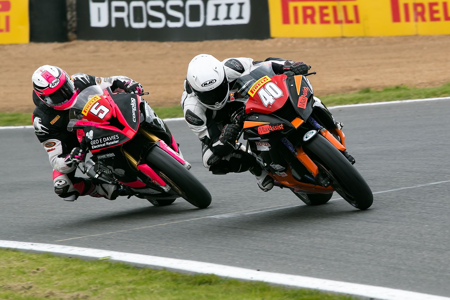 Nadieh in action at Brands Hatch during qualifying. Photo by  John Willumsen