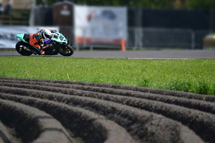 The last turn at Hengelo: my favourite overtaking spot (photo by Geja Tinke)
