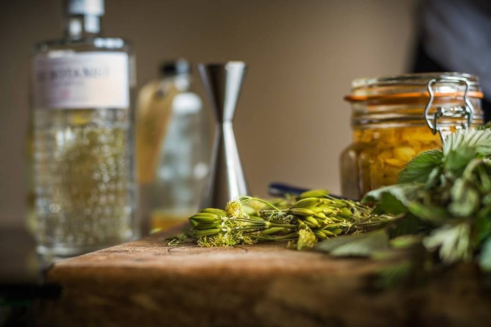 The Botanist is made from 22 hand foraged botanicals.
