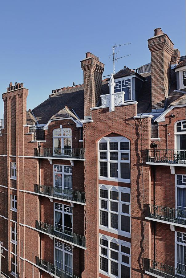 Portman Mansions, Chiltern Street, Marylebone