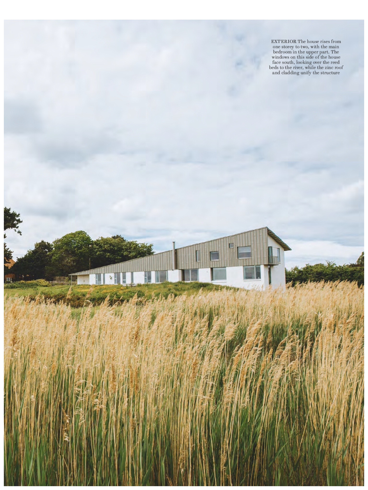 House overlooking the Aldeburgh marshes, Mole Architects