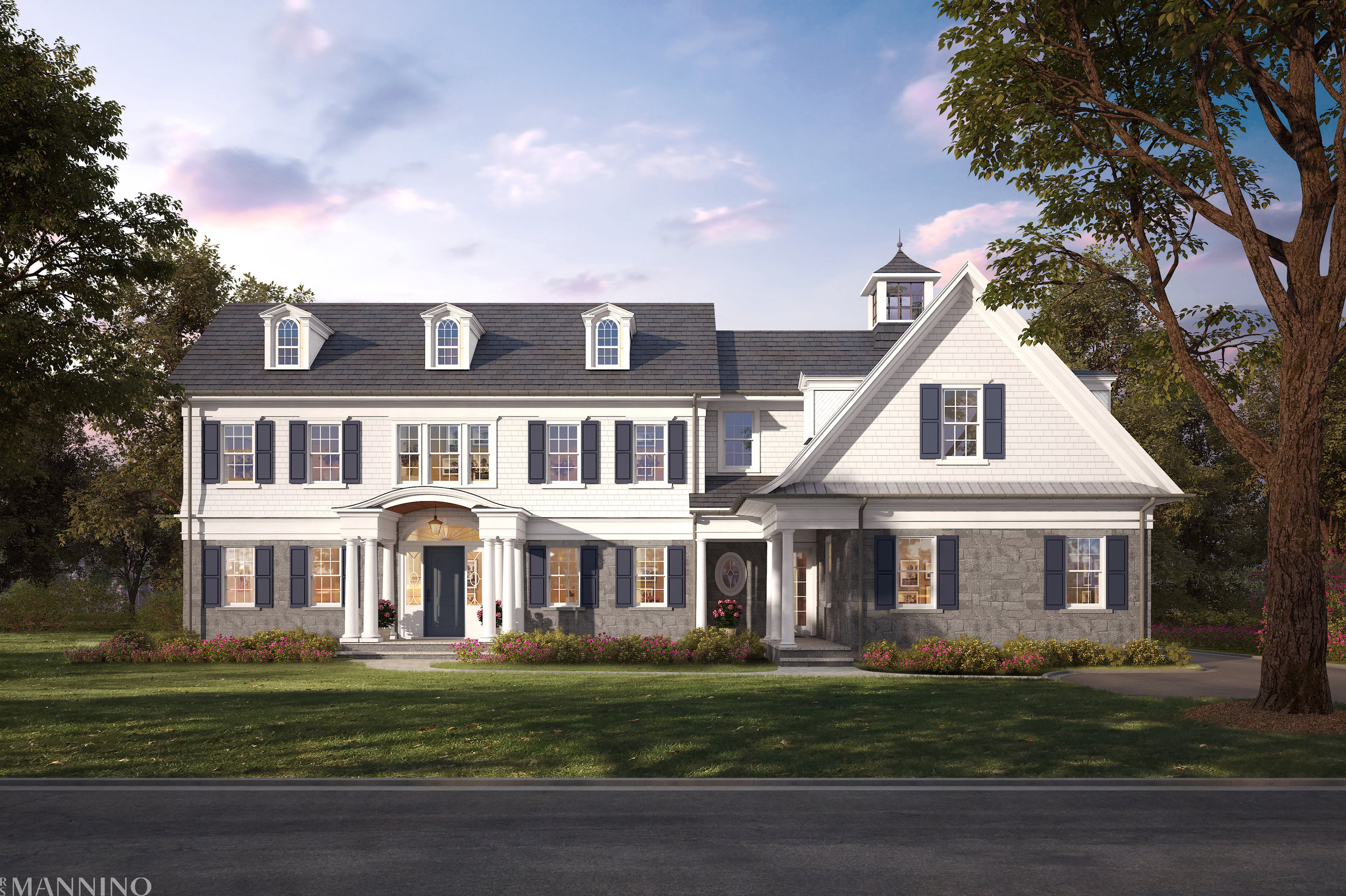 Timeless, classic, colonial, these might be a few words that could describe this new home.