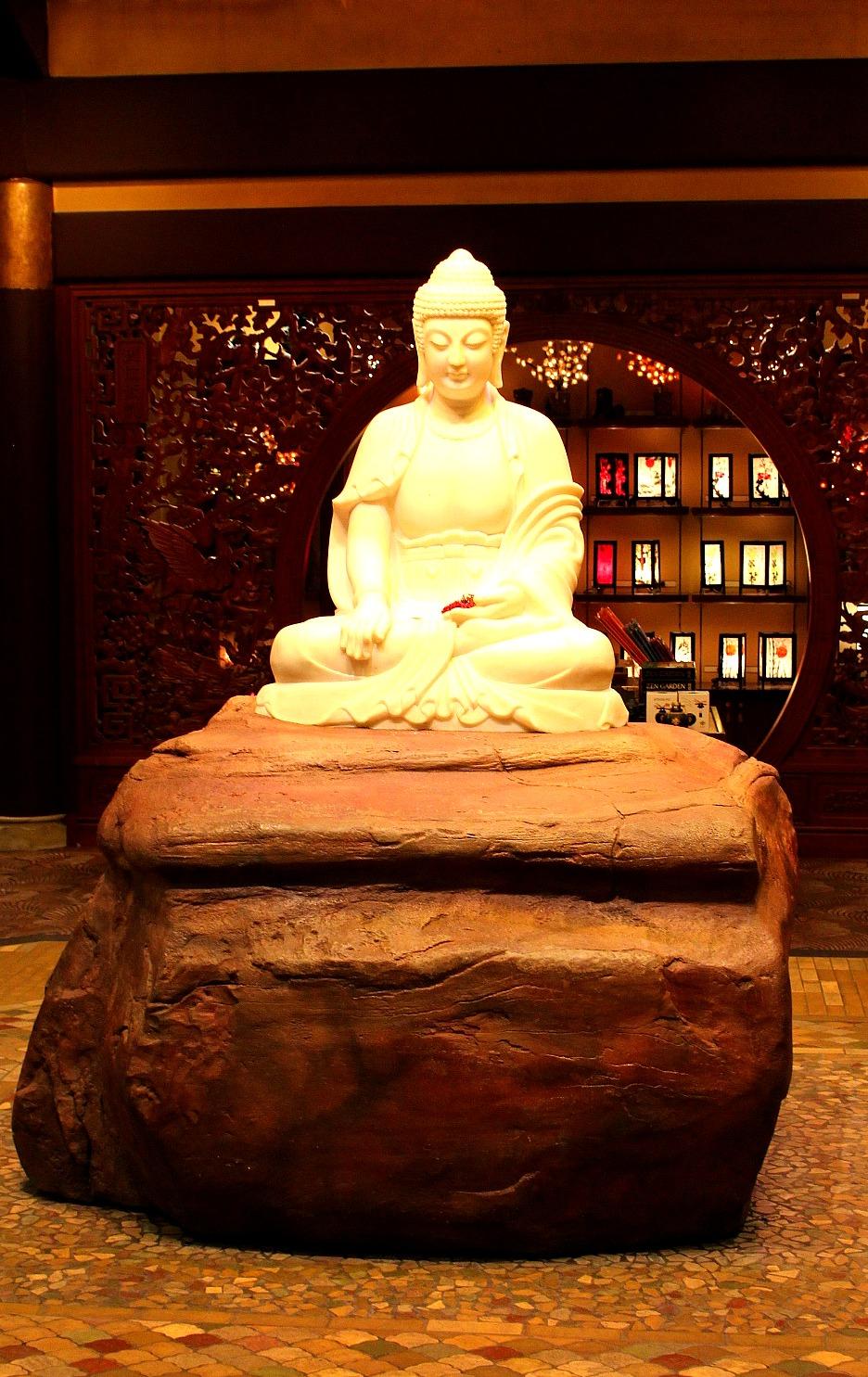 China Pavilion - Buddha