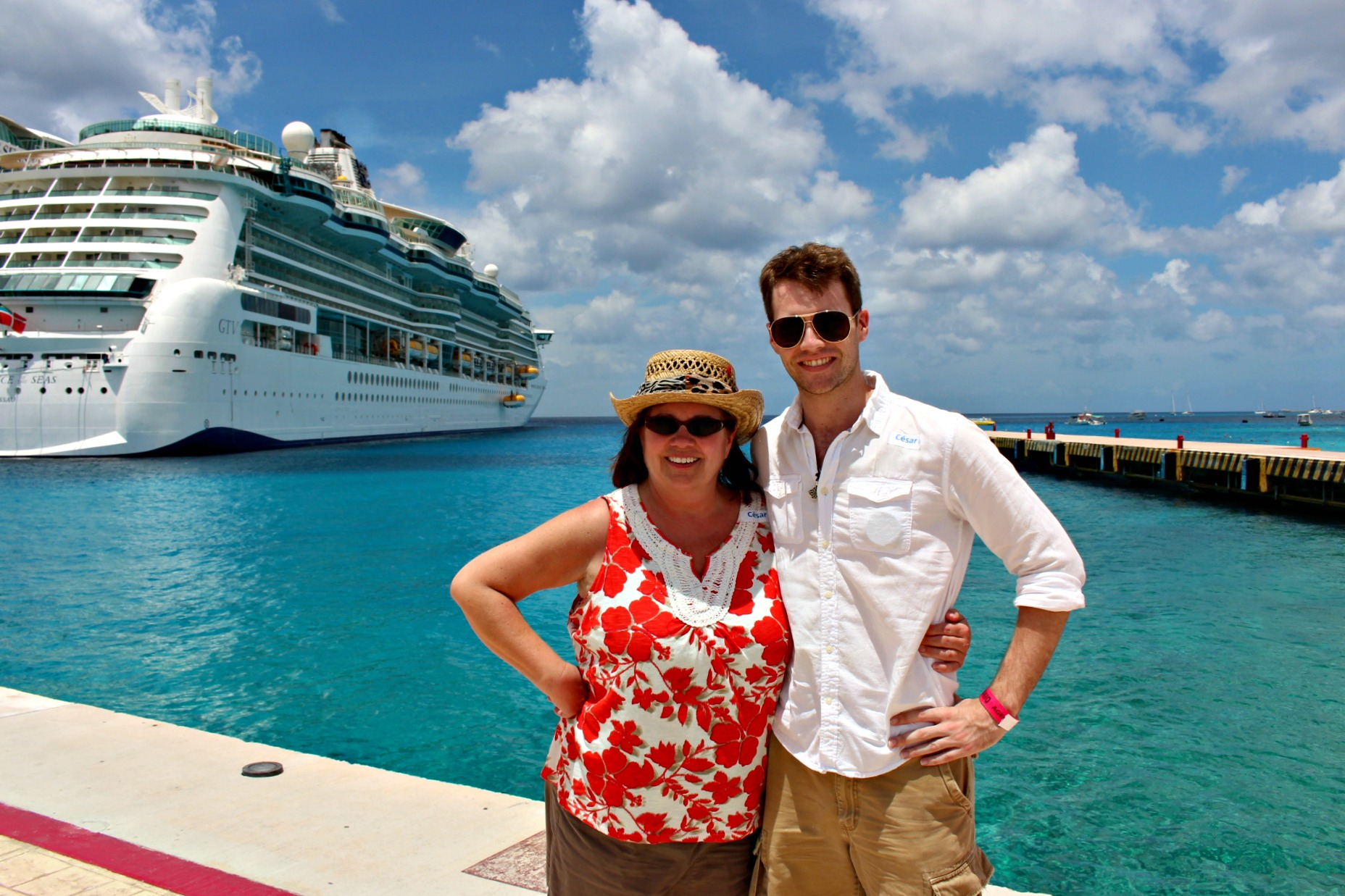 My mom and I had a great time on our cruise!