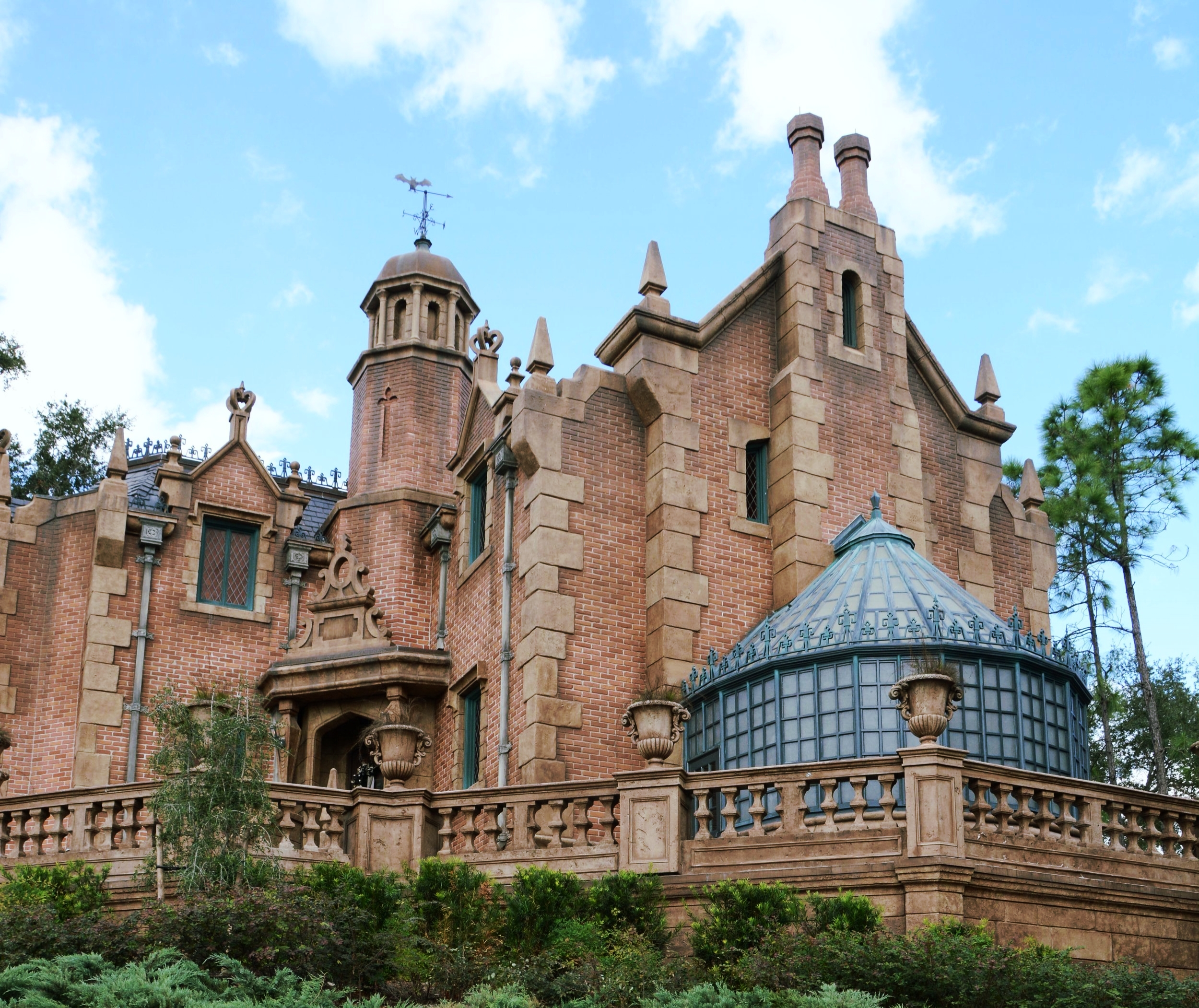 The second ride that we will ALWAYS stand in line for is The Haunted Mansion.