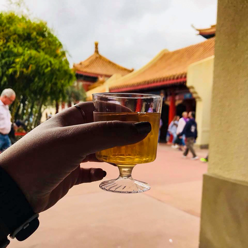 Plum Wine in the China Pavilion