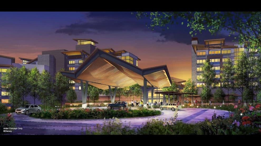 Concept art for Reflections - A Disney Lakeside Lodge set to open in 2022 on the land previously occupied by River Country. (Photo: © Disney)