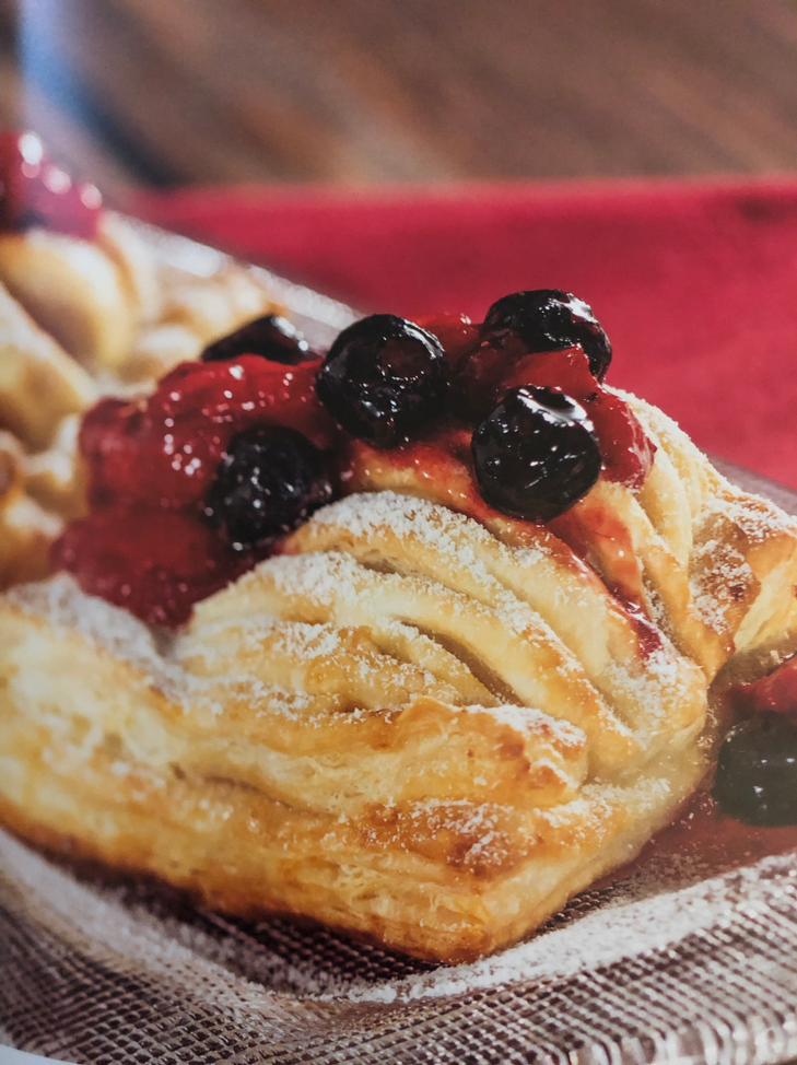 (Photo from the Disney Festivals Cookbook because once again I was too busy eating this to take a picture. Can you blame me really?)