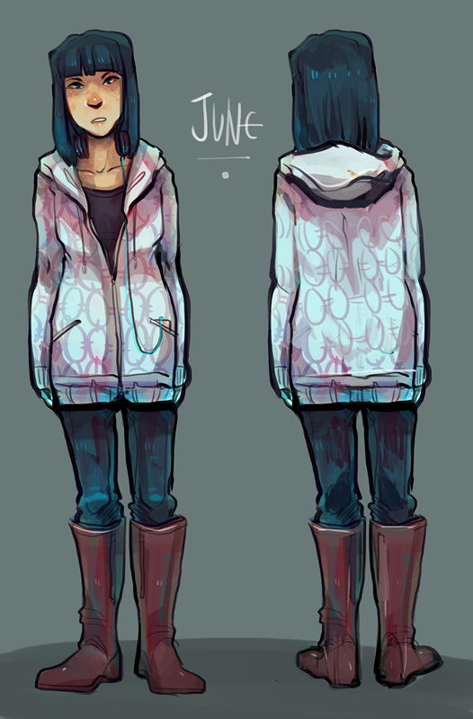 """June"" Character Concept"