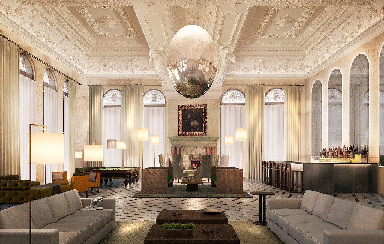The Lobby at The London Edition