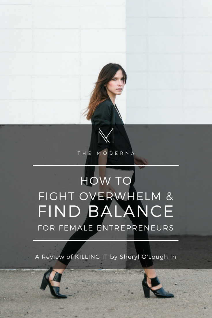 Feeling Overwhelmed and Finding Balance for female entreprneurs