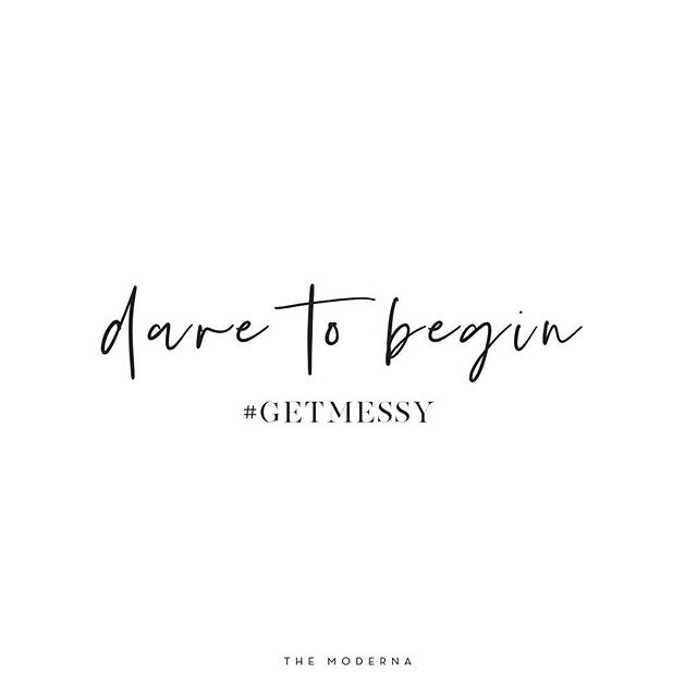 Dare to begin. . . . Colour outside the lines, take chances & work for your goals, your way. Dare to try. Dare to fail. Dare to look silly and ask questions. Dare to expand and grow and demand the life you want. Stop listening to gurus that tell you the 'easy' and 'fast' way to get things done and start listening to your own intuition. Enjoy the journey while you focus on the destination. Trust yourself to make the magic happen. #getmessy . . . #messysexychic #femaleentrepreneur #freelancer #digitalnomad #remotework #thefutureisfemale #futureofwork #workstyle #sidehustle #themoderna #instaquote #coworking #entrepreneur #bblogger #fblogger #bbloggers #fbloggers #workfromhome #quotes