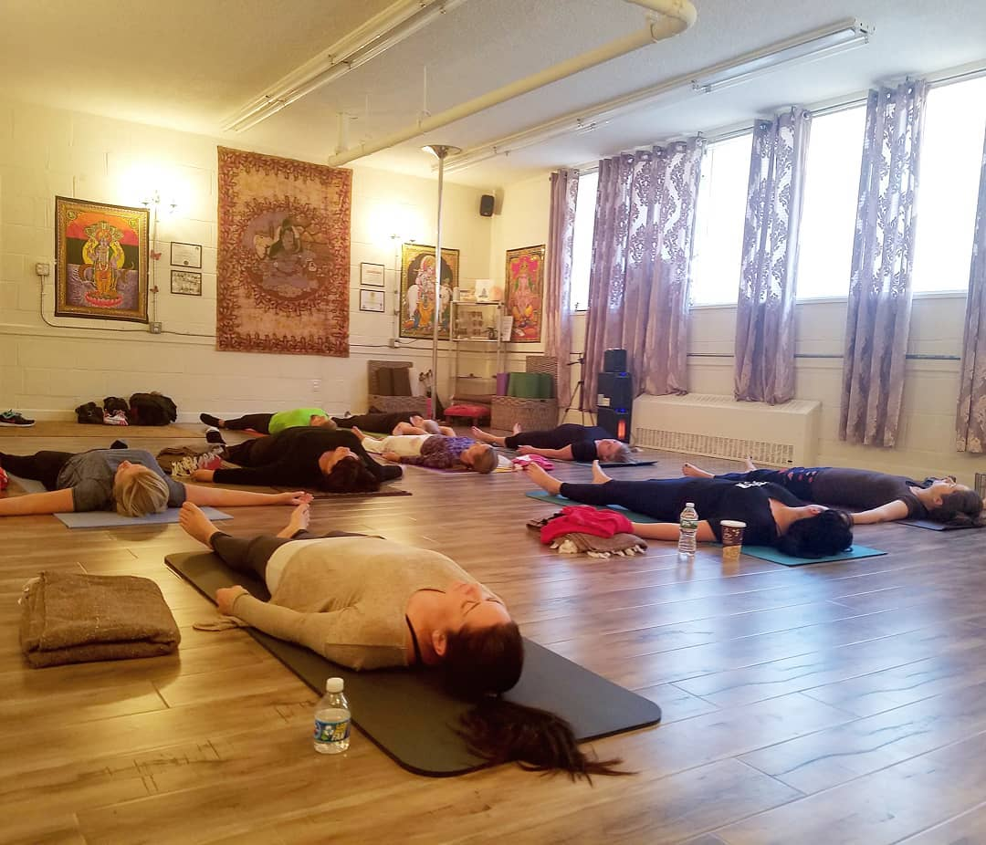 Manasa Yoga Studio Yoga Class